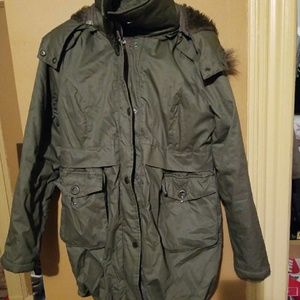 Woman's parka coat